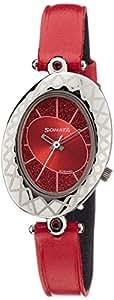 Sonata Analog Red Dial Women's Watch - 8125SL03