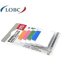 Deli 3paquetes x 100hojas índice etiqueta adhesivo Memo puesto que la nota Pads nº 7159