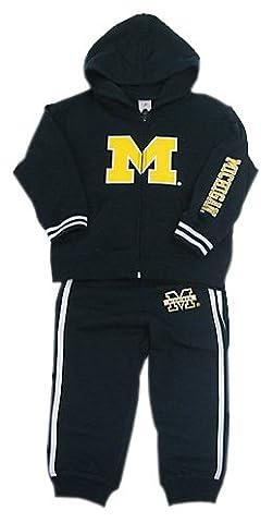 Michigan Kleinkinder zu coolen Hoody und Hose Set, navy