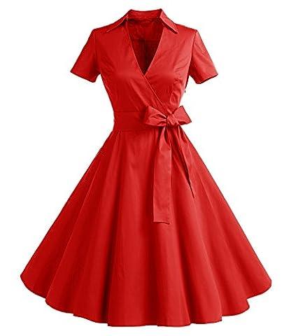 Timormode Rétro Robe Vintage années 60