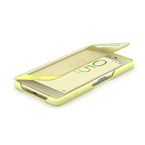 Sony 1301-7696 Smart Style Cover Touch SCR56 Schutzhülle für Xperia X Performance gelb