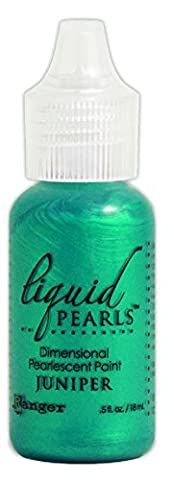 Liquid Pearls Dimensional Pearlescent Paint .5oz-Juniper