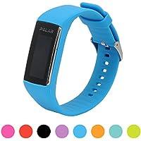 Für Polar Fitnesstracker A360 Smart Watch Ersatz Uhrenarmband - iFeeker Soft Silikon Gummi Uhrenarmband Armband Tasche für Polar Fitnesstracker A360 Smart Watch (Nur Band, Kein Tracker)