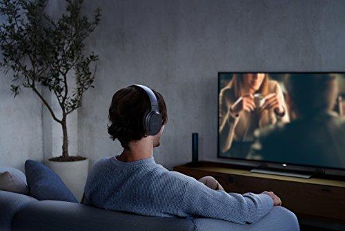 Sony MDR-RF895RK kabellose Kopfhörer (bis zu 100 Meter Reichweite, Geräuschminimierungssystem, 40-mm-Treiber, automatische Frequenzsuche, bis zu 20 Stunden Akkulaufzeit) Schwarz - 15