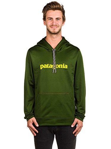 Preisvergleich Produktbild Patagonia 39467-gldg-s – M 's Text Logo polycycle Hoody Farbe: Glades Green Größe: S