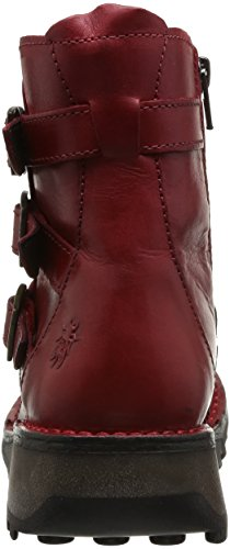 Fly London Myso, Boots femme Rouge (Red)