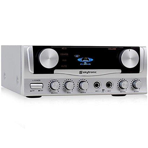 Skytronic Amplificador karaoke compacto calidad sonido
