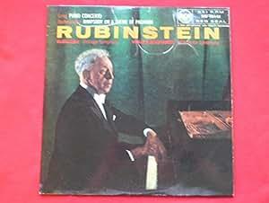 Rubinstein, Artur Grieg Rachmaninov LP RCA RB16141 EX/EX 1957 conducted by Fritz Reiner & Alfred Wallenstein
