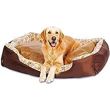 Cama para Perros, Canasta de Cuna de Lujo para Mascotas, Lavable, cómoda y