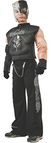 WWE Rey Mysterio Deluxe Child Kostüm (Small) (Wwe Undertaker Kostüme)