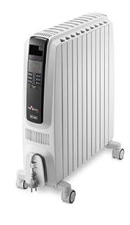 De'Longhi Dragon-4 TRD4 1025E Oil Filled Radiator with Timer/ Electronic Climate Control, 2.5 Kilowatt - White (B00C2353QE)   Amazon price tracker / tracking, Amazon price history charts, Amazon price watches, Amazon price drop alerts