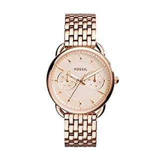 Fossil Tailor Analog Copper Dial Women's Watch – ES3713