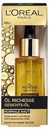 L'Oréal Paris Öl Richesse Gesichts-Öl für normale Haut, 1er Pack (1 x 30 ml)