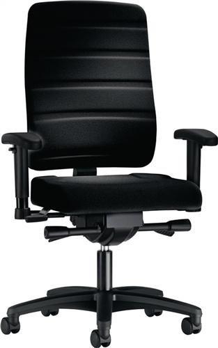 Bürodrehstuhl Yourope 4852 schwarz Komfortpolstersitz, Gewichts- -