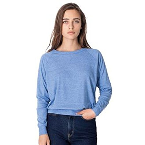 American Apparel -  Felpa  - Donna Athletic Blue Medium