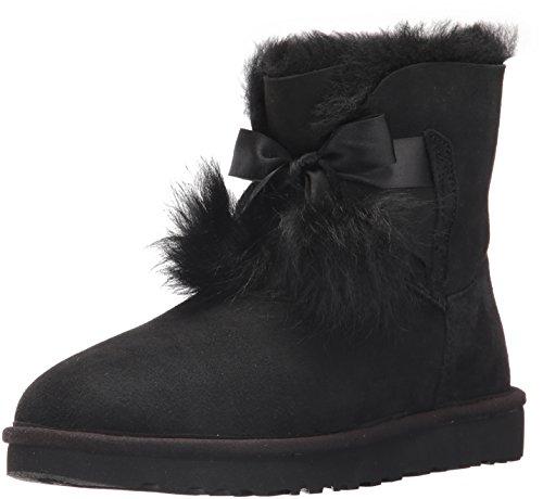 6 Schwarz Frauen Größe Stiefel Ugg (UGG Damenschuhe - Stiefelette GITA 1018517 - black, Größe:37 EU )