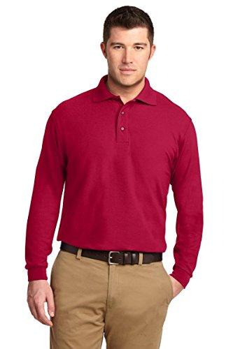 Port Authority–Polo–Kleid Modellieren–Herren Rot