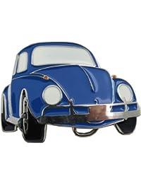 Retro Belt Buckle - Blue Beetle