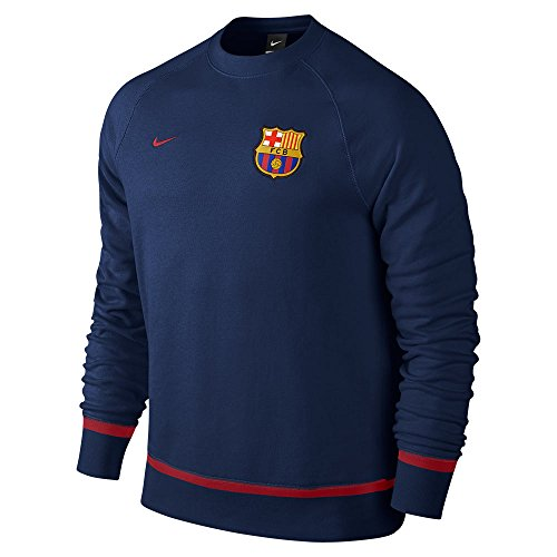 Nike Fcb Auth AW77 LS Crew – T-shirt Football Club Barcelone 2015/2016 pour homme