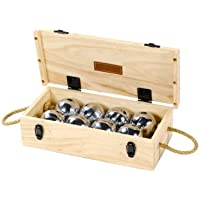 Boules Set - 8 Boules Wooden Box Set-Jaques of London