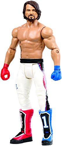 WWE - Figura Básica Wrestlemania Aj Style (Mattel Fmh54)