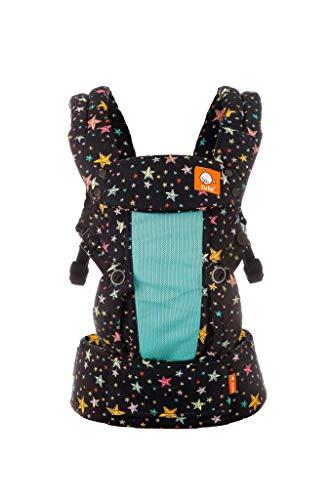 Baby Tula Explore - COAST RAINBOW STARS - Marsupio regolabile per neonati e bambini, ergonomico, varie posizioni per 3,2-20,4 kg