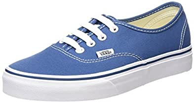 Vans U Authentic - Baskets Mode Mixte Adulte, Bleu (Bleu/Marshmallo), 34.5