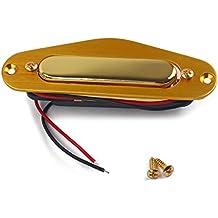 Healifty - Juego de 5 pastillas de sonido para guitarra eléctrica de Alnico V con marco