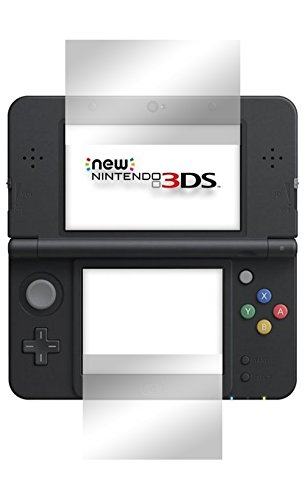 "2 x Slabo Displayschutzfolie New Nintendo 3DS Displayschutz Schutzfolie Folie ""Crystal Clear\"" unsichtbar MADE IN GERMANY"
