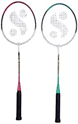 Silver's Sb-414 Gutted Badminton Rackets(Multicolor)