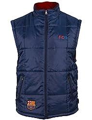 Doudoune sans manche Barça - Collection officielle FC BARCELONE - Taille adulte homme