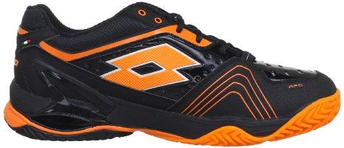 Sport Clay Q3777 Lotto Raptor Ultra blk Tennisschuhe hall orange Iv Herren Schwarz RwddAqZ
