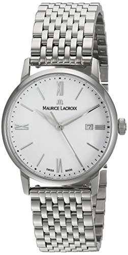 Maurice Lacroix Women's Analogue Quartz Watch with Stainless-Steel Strap EL1094-SS002-110-1