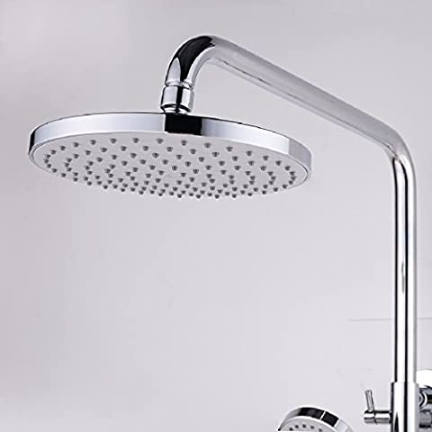 KHSKX Shower set, the whole single-cylinder pressurized single-lift control with three water shower