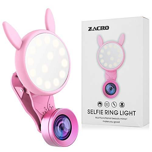 Zacro autoscatto luce di riempimento contiene sei livelli di luce.