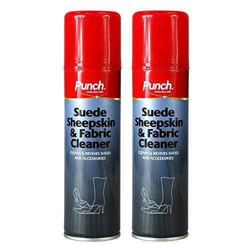 2 x Punch® Suede Sheepskin & Fab...