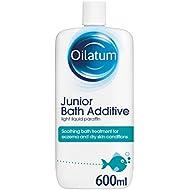 Oilatum Junior Eczema and Dry Skin Emollient Bath Additive, 600 ml