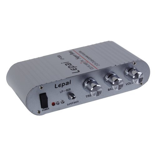 Mini Amplificador De Audio Estéreo Hi-Fi Para Coche