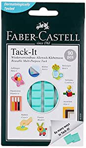 Faber-Castell Tack-It - 90 pieces (Light Green)