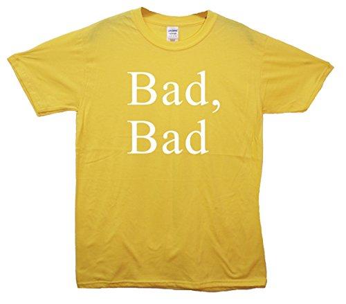 Bad, Bad Crop Top Gelb