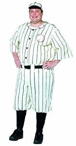 Rasta Imposta 8265RI Mens Plus Size Old Time costume de joueur de baseball