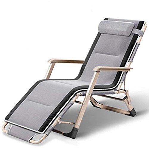 YOPEEN Liegestühle |Verstellbarer Nickerchen-Recliner-Stuhl im Freien, der...