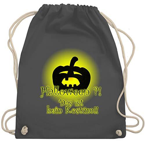 Halloween - Kein Halloweenkostüm - Unisize - Dunkelgrau - WM110 - Turnbeutel & Gym ()