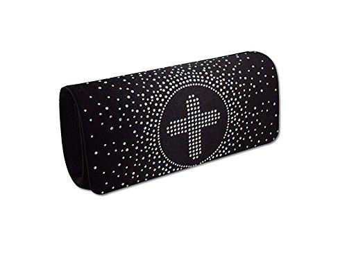 XPGG da sera da donna, borsetta per feste per frizione A good Idea regalo Nero (nero)