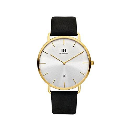 Danish Design Reloj Analógico para Hombre de Cuarzo con Correa en Cuero IQ15Q1244