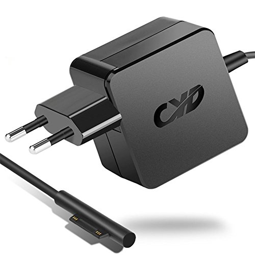 QYD 12V 2.58A 36W-Notebook-Power-Adapter-Fast-Netzteil-ladegerät-für Microsoft Windows New Surface Pro 5 Pro 4 Pro 3 i5 i7 2017 Model 1625 mit 5.25 Ft Power-Supply-Charger-Laptop-AC-Netzteil