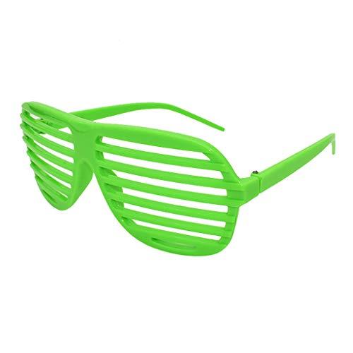 Männlich Jahre Kostüm 60er - Mitlfuny Karnevalsparty Fancy Festival Zubehör,Lustige verrückte Kostüm Brillen Neuheit Kostüm Party Sonnenbrillen Zubehör