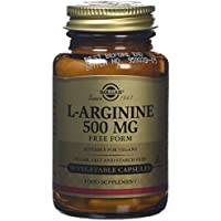 Solgar L-Arginine 500 mg Vegetable Capsules - 50 Capsules