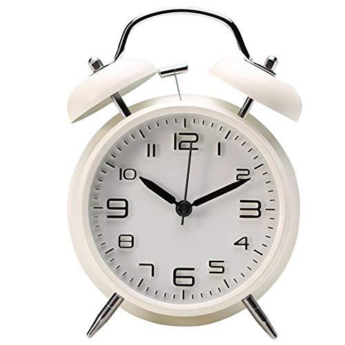 Vintage Reloj Despertador Doble Campana Sonido Fuerte