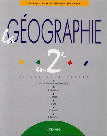 Géographie 2de : outils et méthodes